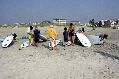 paddleboarding summer camp